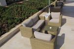Дизайнерски сепарета от ратан за заведения